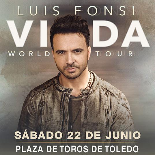 Concierto de Luis Fonsi en Toledo