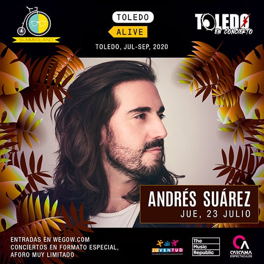 Andrés Suárez en Toledo el jueves 23 de julio de 2020