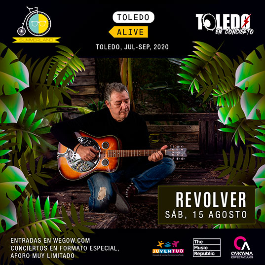 Revolver el sábado 15 de agosto de 2020