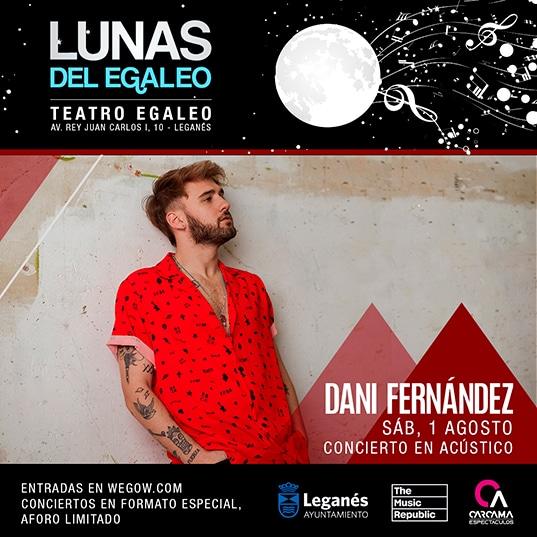 Acústico de Dani Fernández en Teatro Egaleo