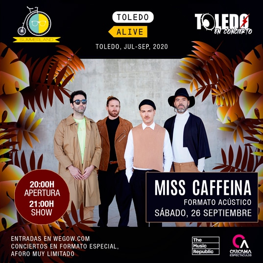 Miss Caffeina en Toledo