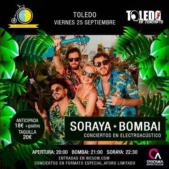Soraya y Bombai en Toledo